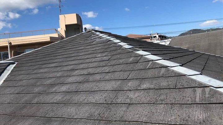 コロニアル屋根調査