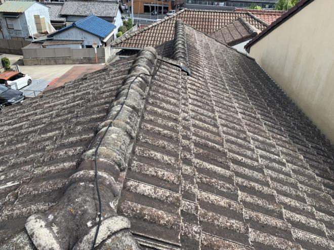 春日井市、雨漏り、屋根葺き替え