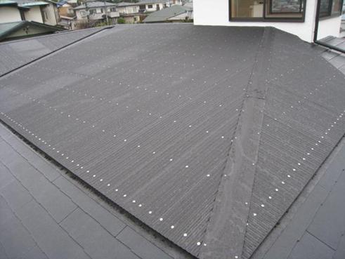 三島市雨漏り屋根カバー