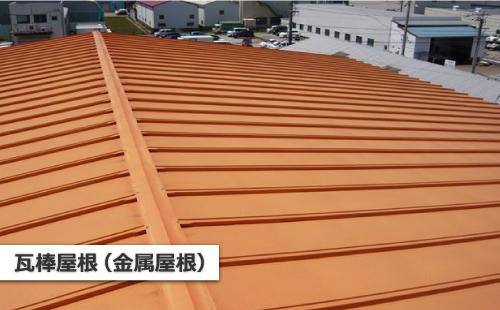 瓦棒屋根(金属屋根)
