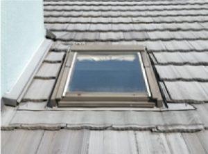 撤去前の天窓(トップライト)