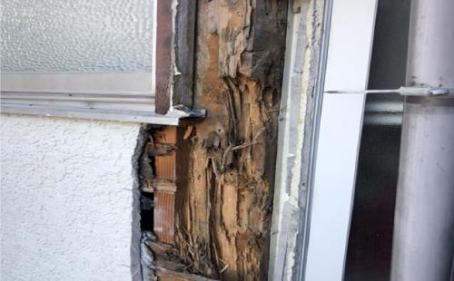 外壁下地の腐食