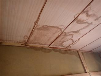 袖ケ浦市横田で一年前から雨漏りに悩まれていた邸宅の瓦屋根を調査、棟瓦のズレと防水紙の劣化を確認