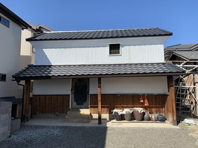 八尾市の蔵 施工後の写真