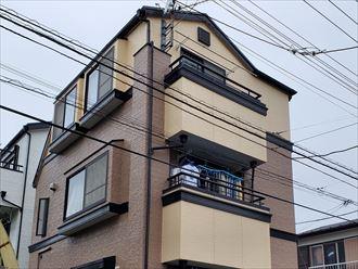 市川市大和田の3階建てお住まい