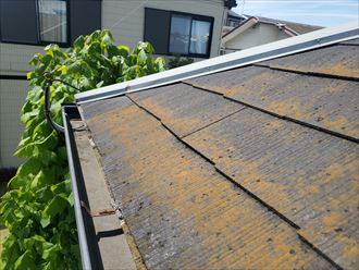 屋根材の塗膜劣化