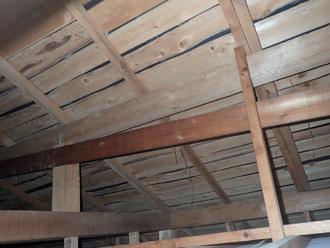 千葉市中央区春日にて雨漏りの影響で天井が落下、雨漏り補修のご相談をいただきました