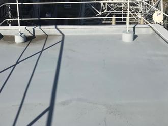 陸屋根屋上