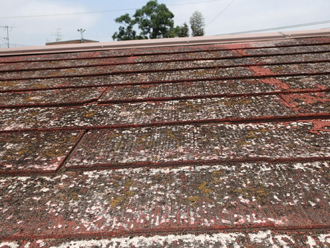 屋根材劣化