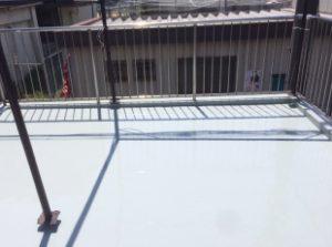 防水層施工アフター
