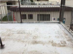 防水層施工ビフォア