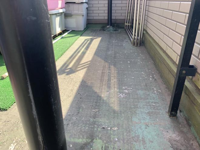 春日井市の雨漏り、ベランダ防水