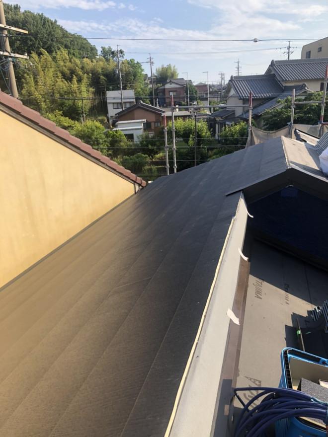 春日井市、屋根葺き替え、ガルテクト