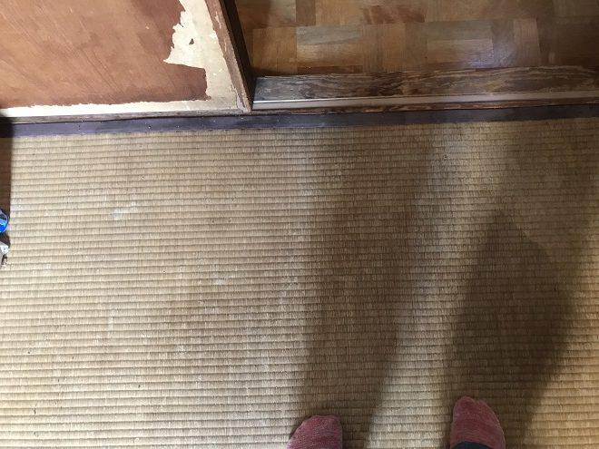 吹田市垂水町で雨漏り点検|畳、ふすまなど雨漏りの二次被害は深刻です