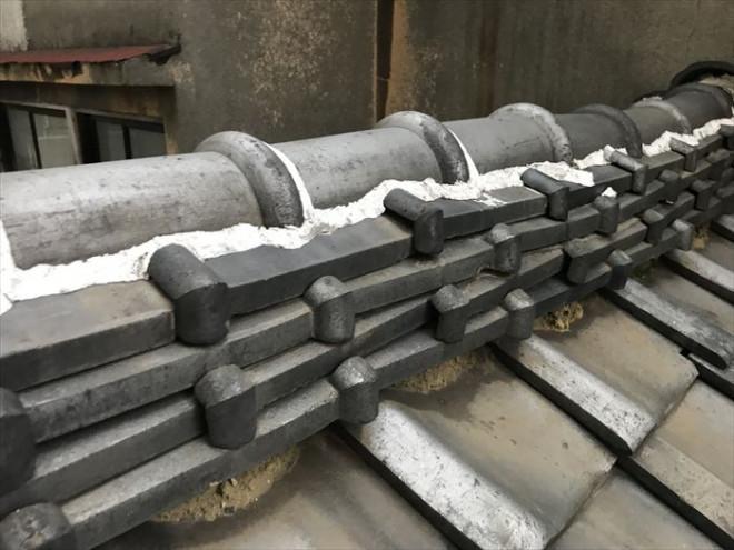 江東区住吉にてパラペットがある瓦屋根からの雨漏り調査を実施、ラバーロック工法も要注意!