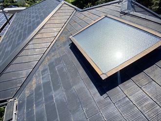 狛江市和泉本町にて天窓からの雨漏り調査、今後の補修方法として交換か撤去をご提案