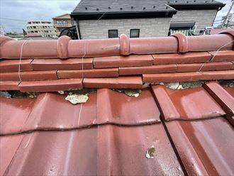 葛飾区西亀有にて増築されている瓦屋根の雨漏り調査を実施!