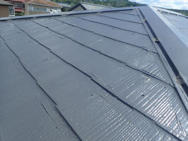 市原市佐是にて塗装直後のスレート屋根での雨漏り調査を実施、縁切りの重要性を再確認!