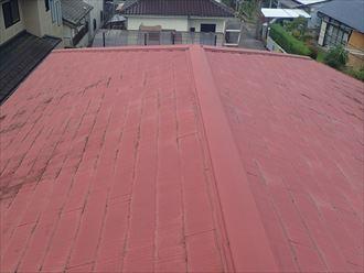 狛江市東野川にて室内まで拡大してしまったスレート屋根からの雨漏り調査を実施