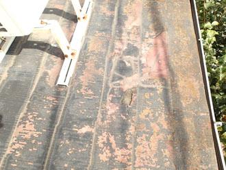 横浜市都筑区中川でスレート屋根にヒビが入り雨漏り、屋根葺き替え工事で下地からメンテナンスしましょう!