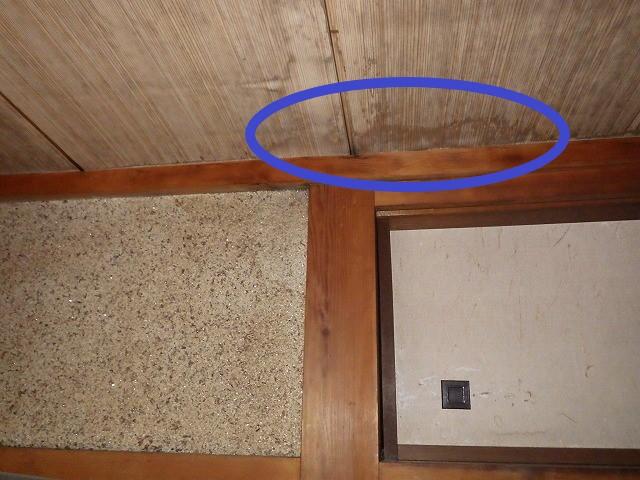 大阪市平野区にて、和瓦屋根からの雨漏り調査を行いました