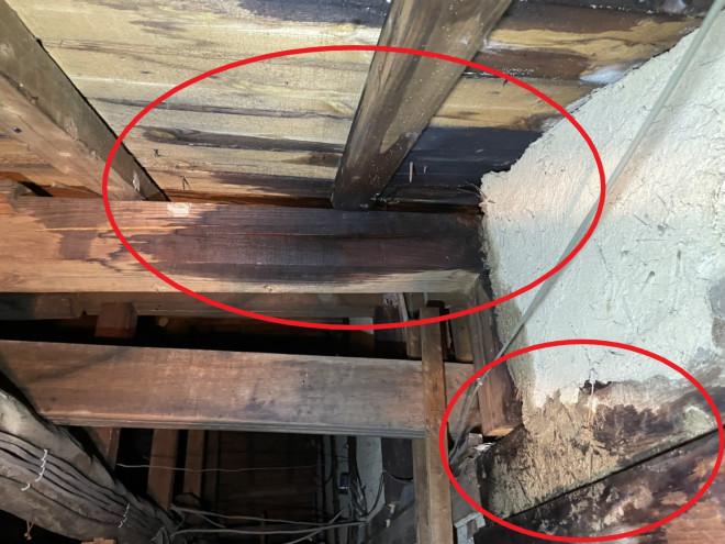 奈良市で無料雨漏り調査。建物を増築された方やこれからお考えの方はご注意。