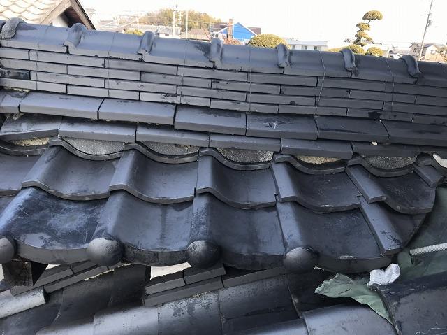 中井様邸 屋根修理前