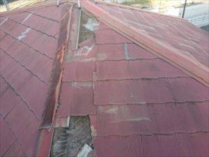 令和元年房総半島台風で被災したスレート屋根
