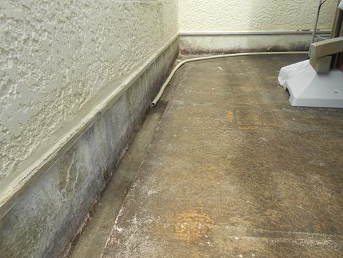沼津市雨漏りベランダ防水