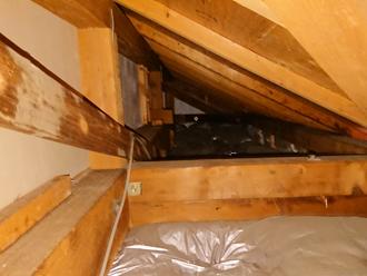横浜市鶴見区小野町にて雨漏りのご相談、屋根葺き替え工事をご提案いたしました