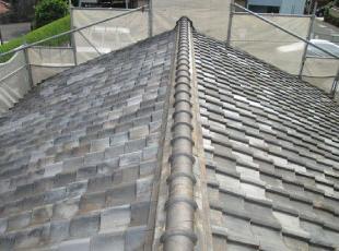 重い屋根材